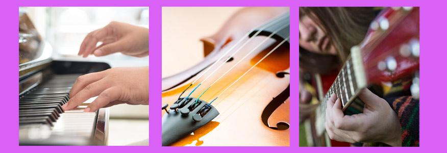 Classes Intensives de Piano, Guitarra, Violí, Canto, Llenguatge Musical.