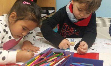 Nuestros alumnos pequeños aprenden la clave de Sol