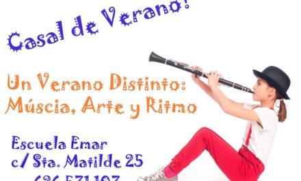 Quieres un Verano Musical!! Ven a nuestro Casal!!!