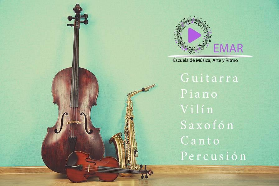 Apunta't! Classes de Música i Instruments