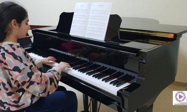 Milena es Prepara per al Concert