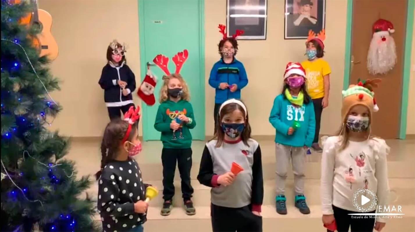 Concert de Nadal a l'escola